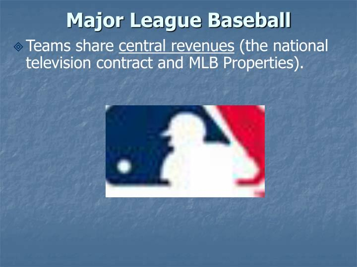 Major league baseball2