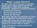 major league baseball6
