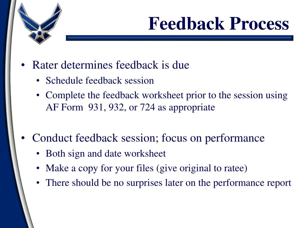 feedback-process-l Af Form Mid Term Examples on