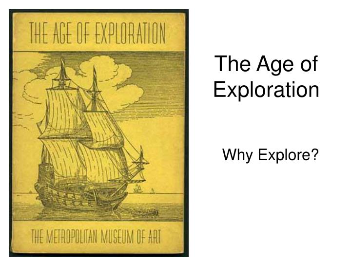 the age of exploration n.