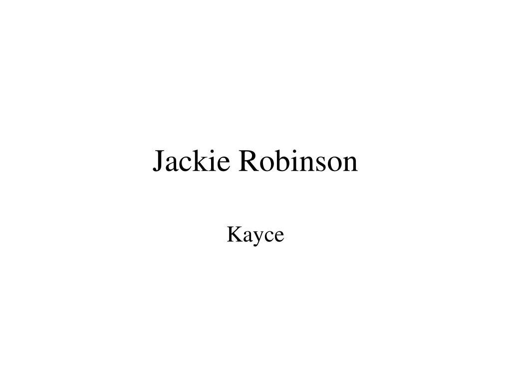 jackie robinson l.