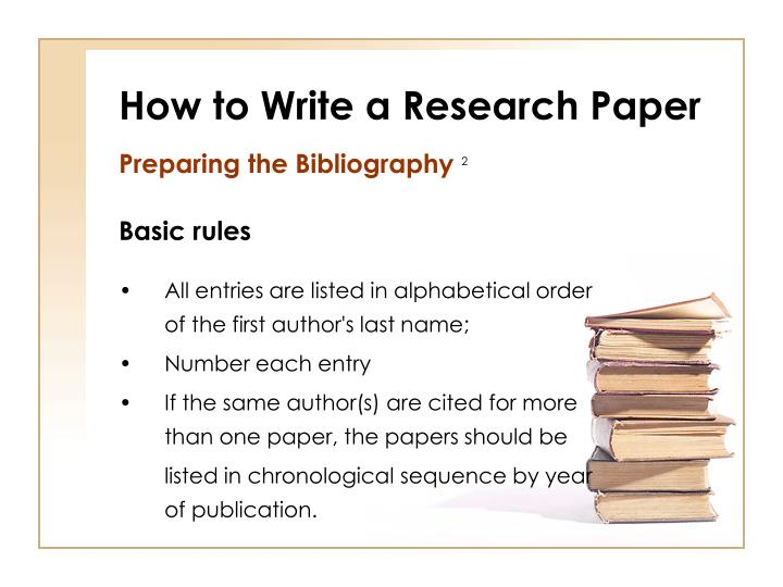 writing a research paper powerpoint presentation How to write an effective research paper • getting ready with data • first draft • structure of a scientific paper • selecting a journal • submission • revision and galley proof disclaimer: the suggestions and remarks in this presentation are based on personal research experience research practices and.
