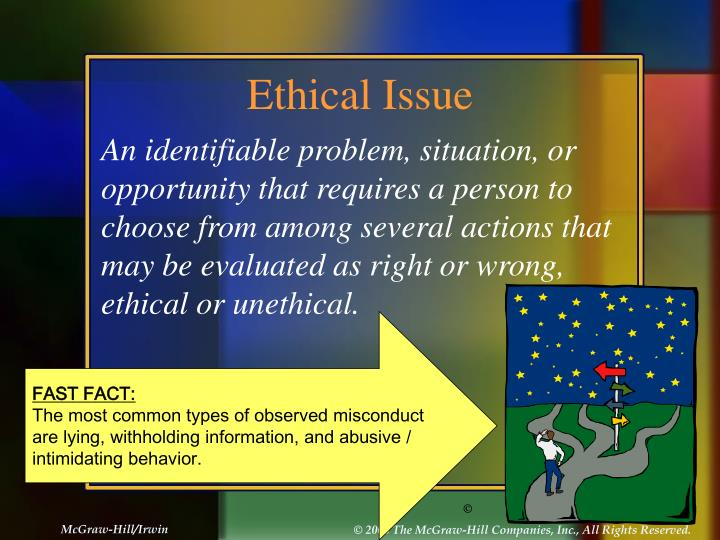 ethical issues when observing children Ethical issues when observing children ethical issues organizations today are faced with many issuesa major challenge is dealing with and determining a code of ethics ethics involves the study of moral issues and choices (kinicki, 2009) many organizations today are faced with unethical behavior that occurs throughout the company.