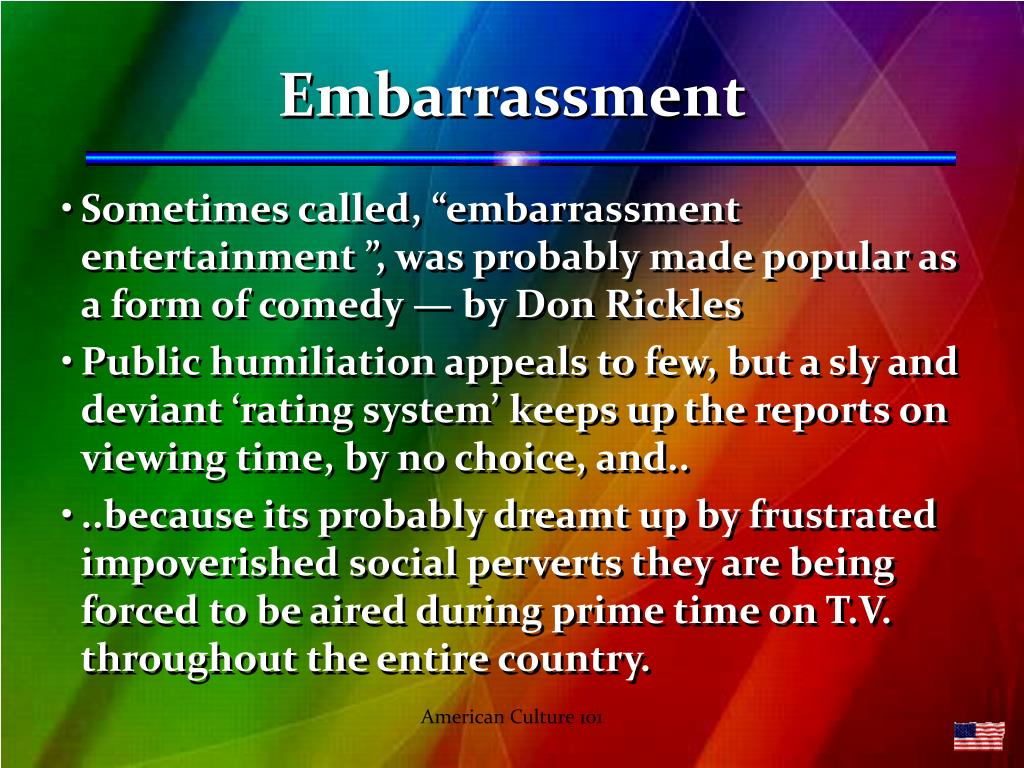 Embarrassment