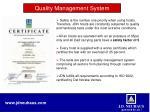 quality management system