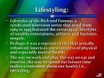 lifestyling