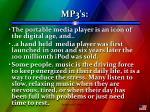 mp3 s