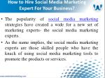 how to hire social media marketing expert for your business4