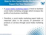 how to hire social media marketing expert for your business5