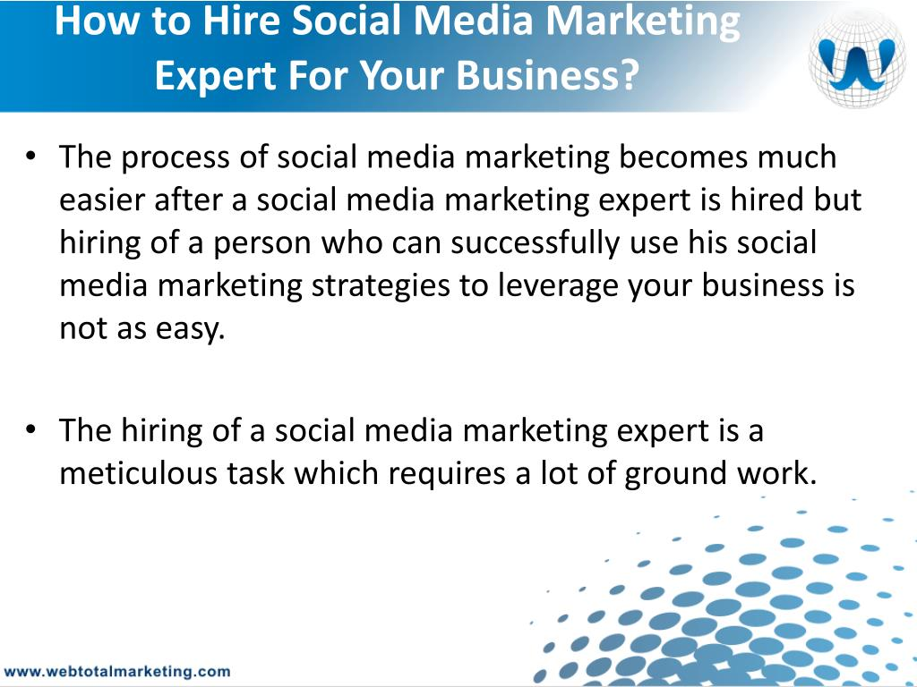 How to Hire Social Media Marketing Expert For Your Business?