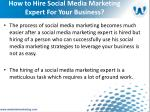 how to hire social media marketing expert for your business6