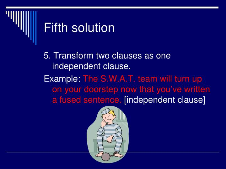 Fifth solution