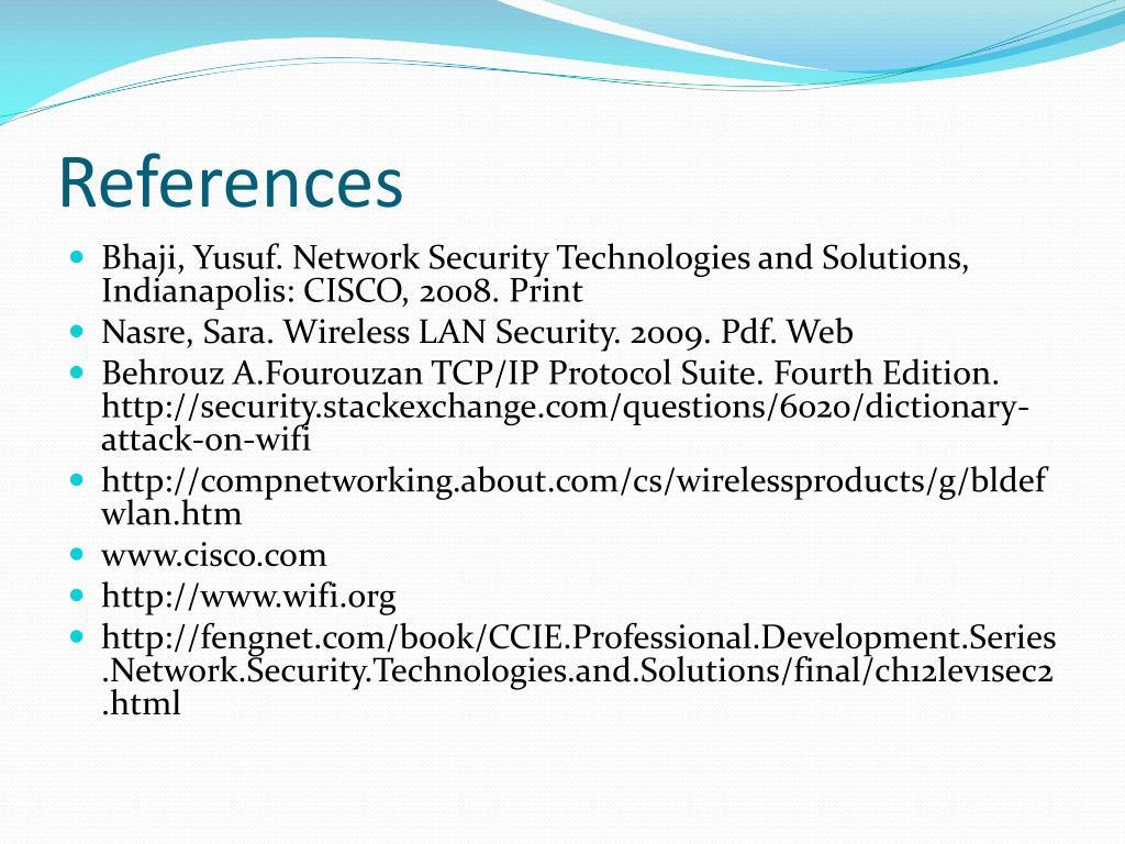 PPT - WIRELESS LAN SECURITY PowerPoint Presentation - ID:1144363