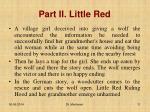 part ii little red1