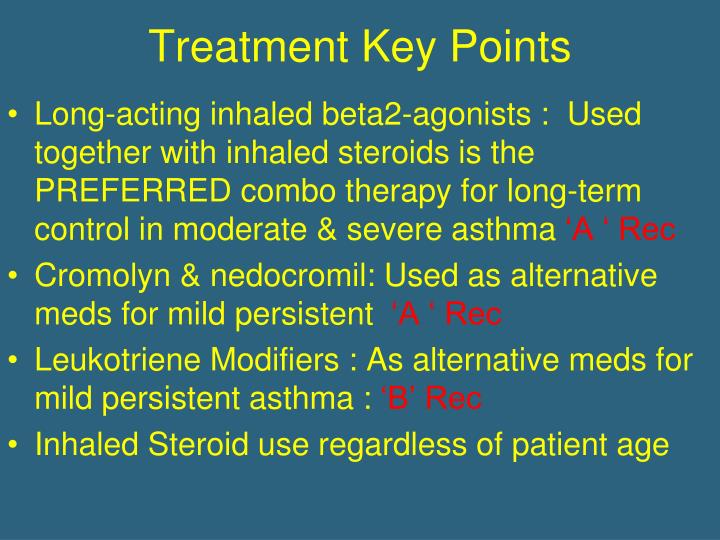 Treatment Key Points