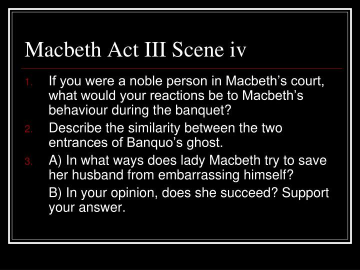 similarities between macbeth and banquo