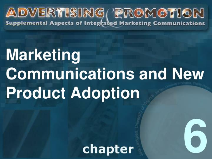 marketing communications and new product adoption n.