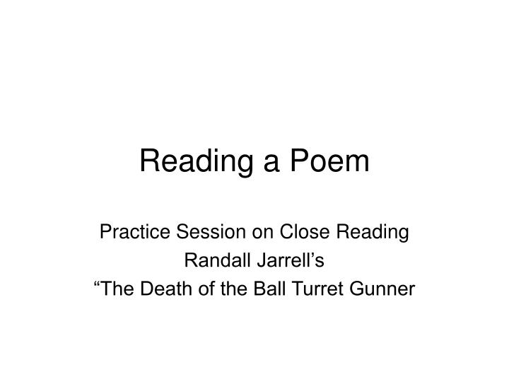 an analysis of the ball poem by john berriman