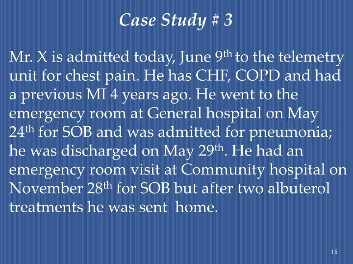 Case Study # 3
