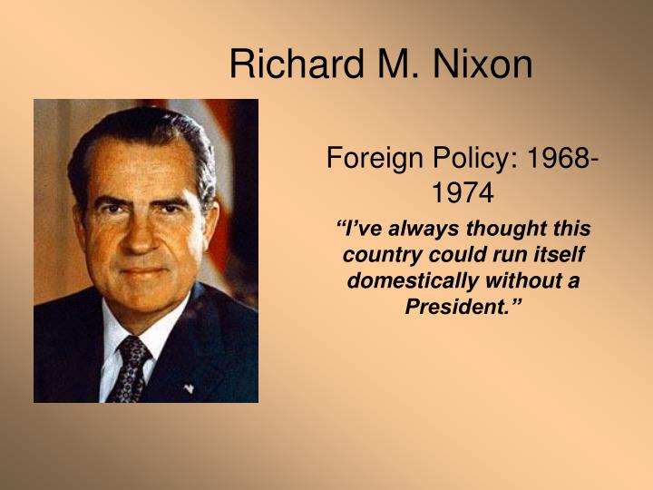 an analysis of richard nixons political career This paper presents a brief outline of former us president richard nixon's political career the paper traces nixon's early political successes starting with his vice presidency under president dwight d eisenhower through a series of setbacks over the next few years to his victory in the 1968 presidential election against president lyndon b johnson.