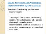 quality assessment and performance improvement plan qapi continued2