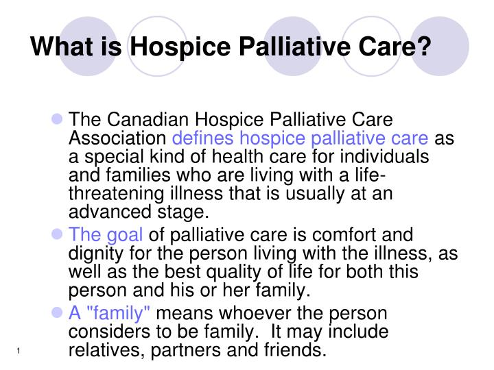 Ppt What Is Hospice Palliative Care Powerpoint