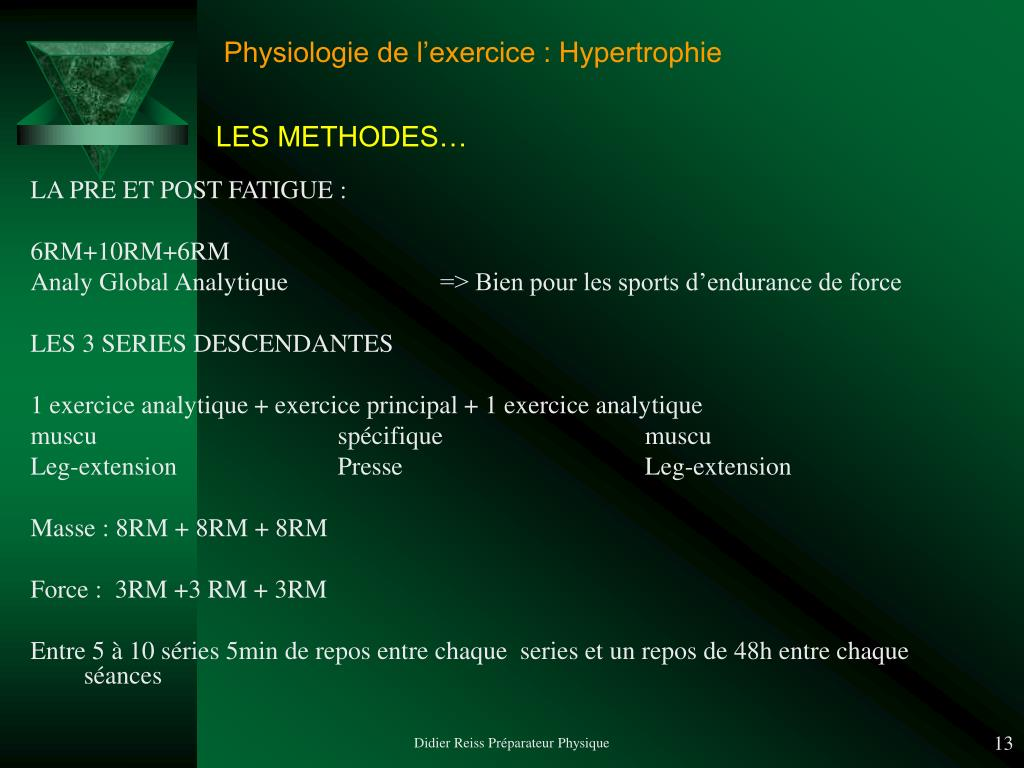 PPT - Hypertrophie / Système Hormonal PowerPoint ...