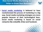 how social media marketing services helps to grow your business1