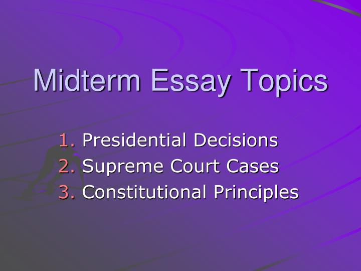 essay questions about presidents Free presidential elections papers, essays who the presidents were and what they did say a lot about this essay might be a good stepping stone for me to.