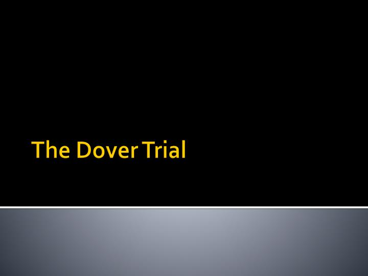 the dover trial n.