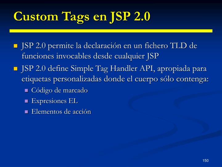 Custom Tags en JSP 2.0