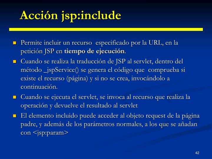 Acción jsp:include