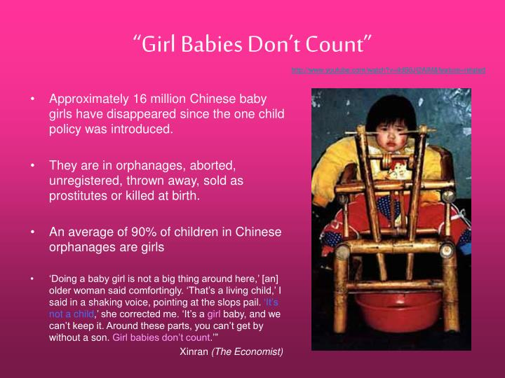 """Girl Babies Don't Count"""