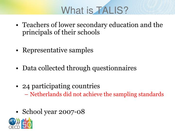 What is TALIS?