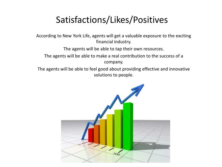 Satisfactions/Likes/Positives