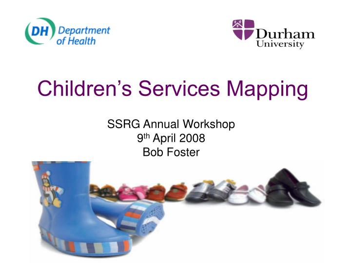 Children s services mapping