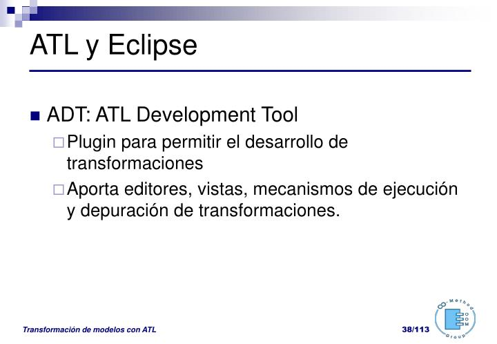 ATL y Eclipse