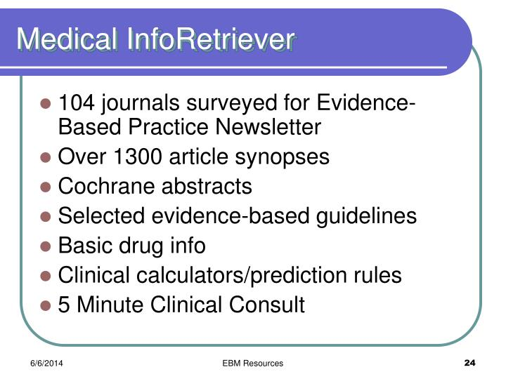 Medical InfoRetriever