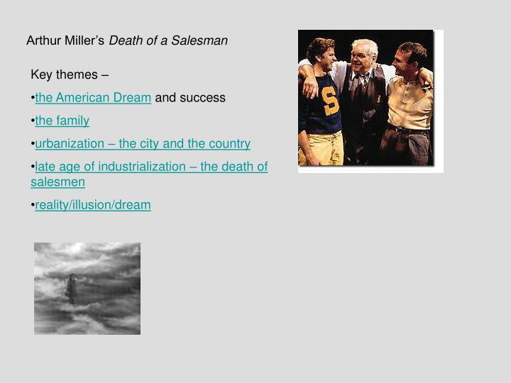 the theme of relationships in death of a salesman by arthur miller