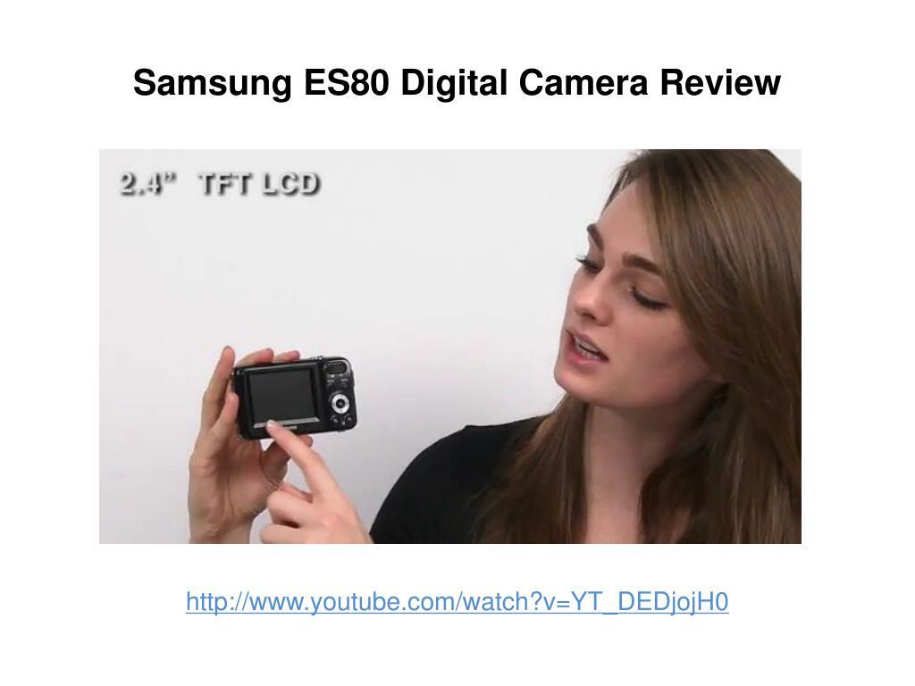 samsung es80 digital camera review l.