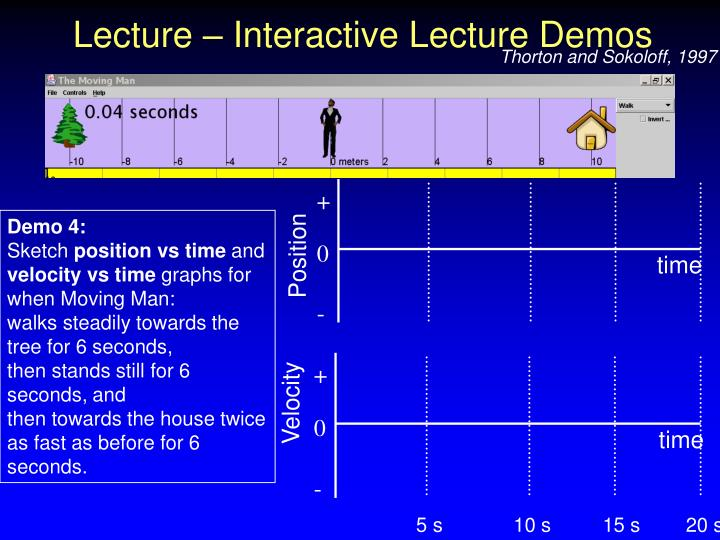 Lecture – Interactive Lecture Demos