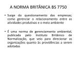a norma brit nica bs 7750