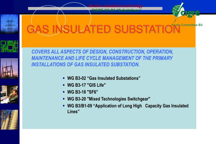 Modern substation technology