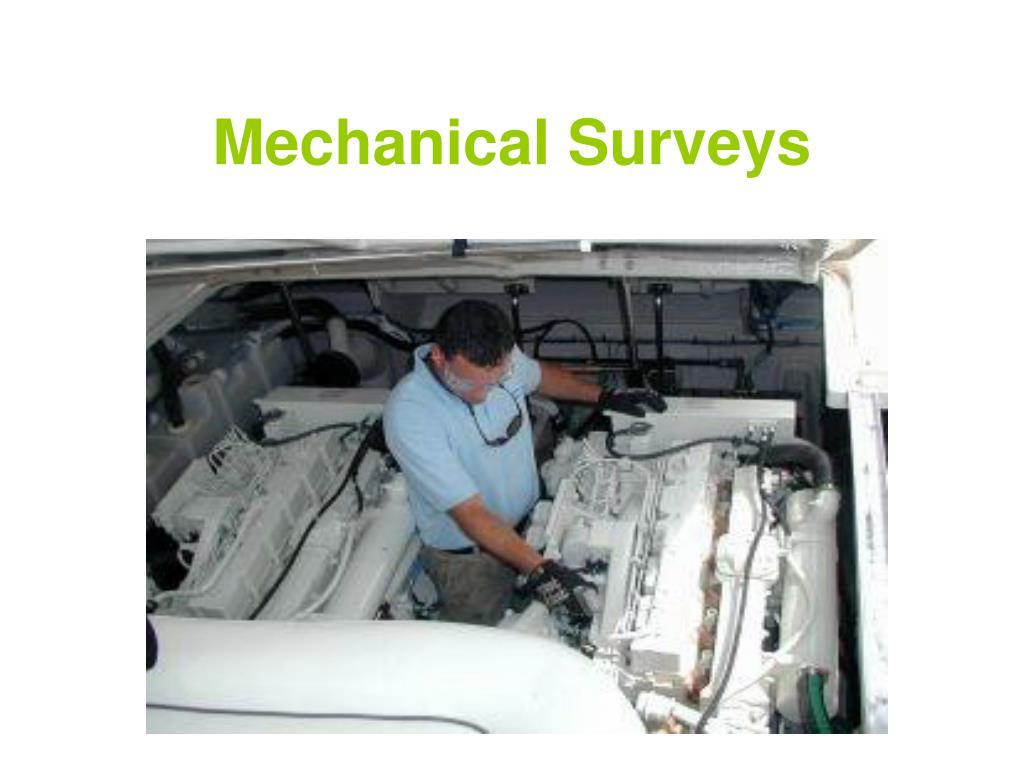 mechanical surveys l.