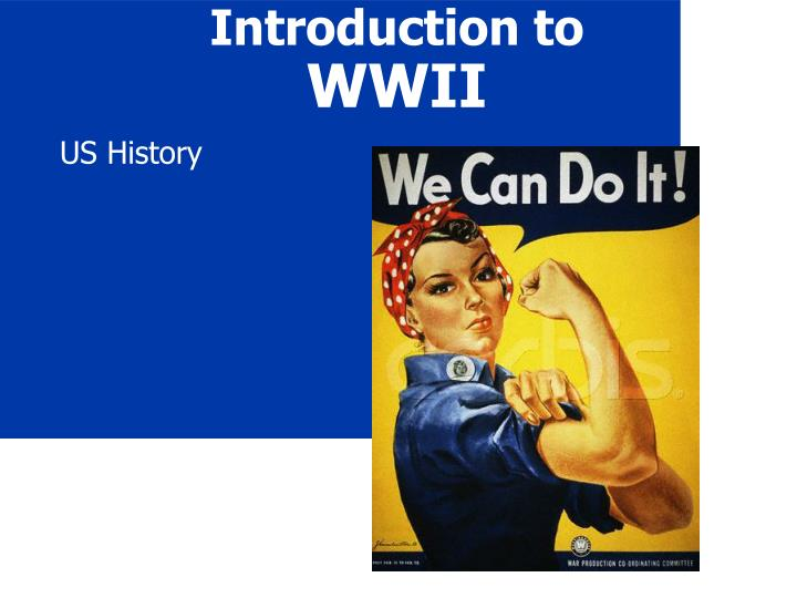 an introduction to the causes for world war two Causes of wwii the world at waragain main causes of wwii treaty of versailles policy of appeasement totalitarianism nazi-soviet non- aggression pactdocuments causes of world war ii failure of the treaty of versailles ineffectiveness of the league of nations impact of thedocuments.