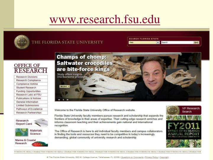 www.research.fsu.edu