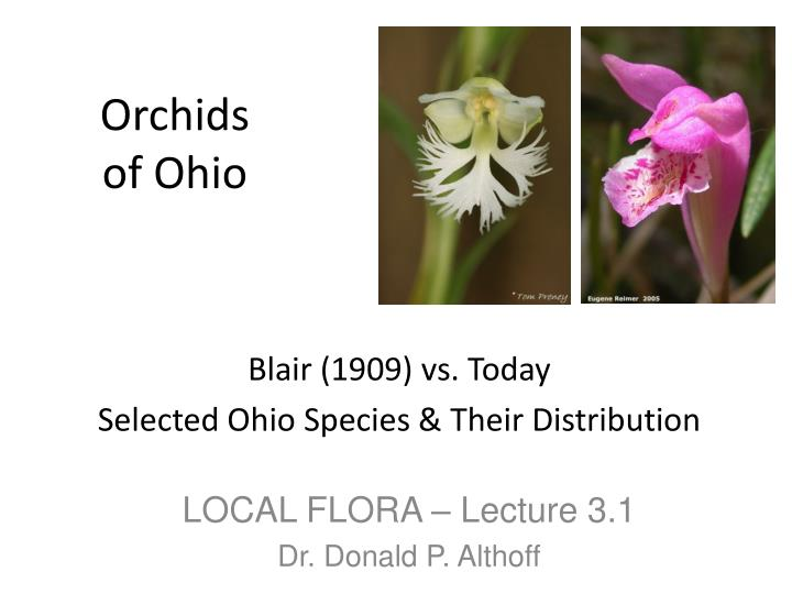 orchids of ohio n.