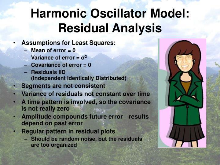 Harmonic Oscillator Model: