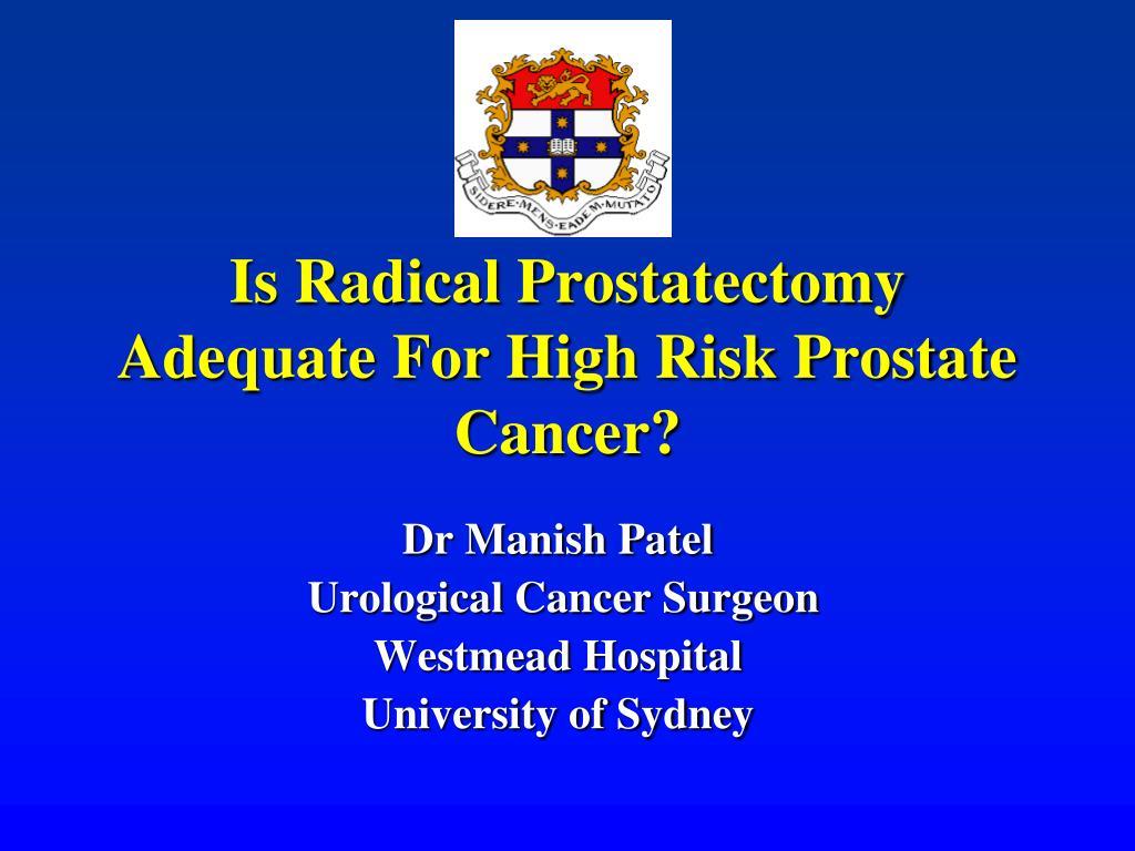 dr scholz carcinoma della prostata
