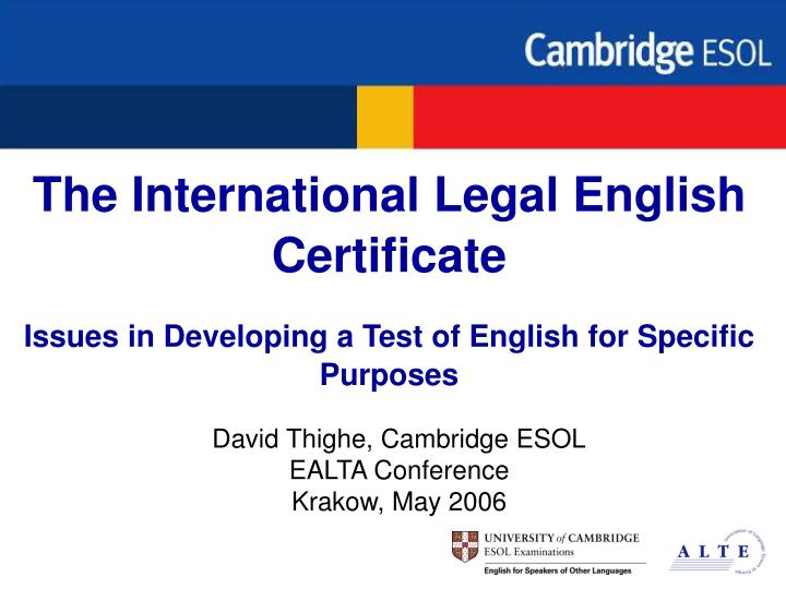 international legal english certificate test of writing english language essay Essays: structure 1 introduction from an essay on language lot of information about the various parts of the test , including the writing part.